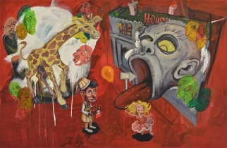 'The House of Peril' - 2012 - oil on canvas - 120 x 160 cm