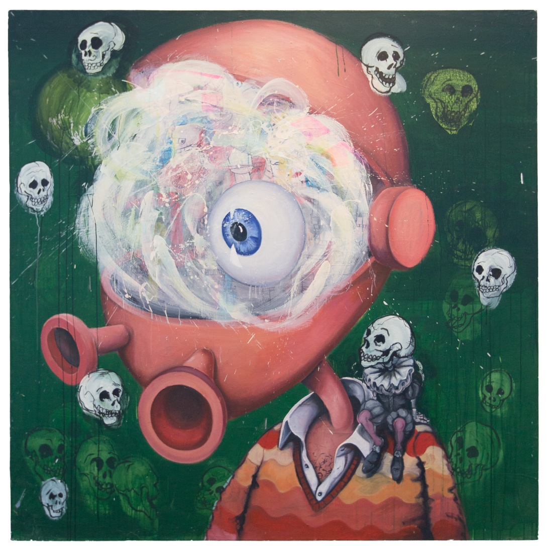 Mr Nuero Semantic / 2009 / oil on canvas / 185 x 185 cm